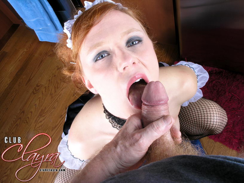 This hot maid really knows how to keep her boss happy.